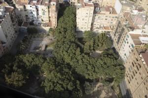 Vista aérea del parque Manuel Granero
