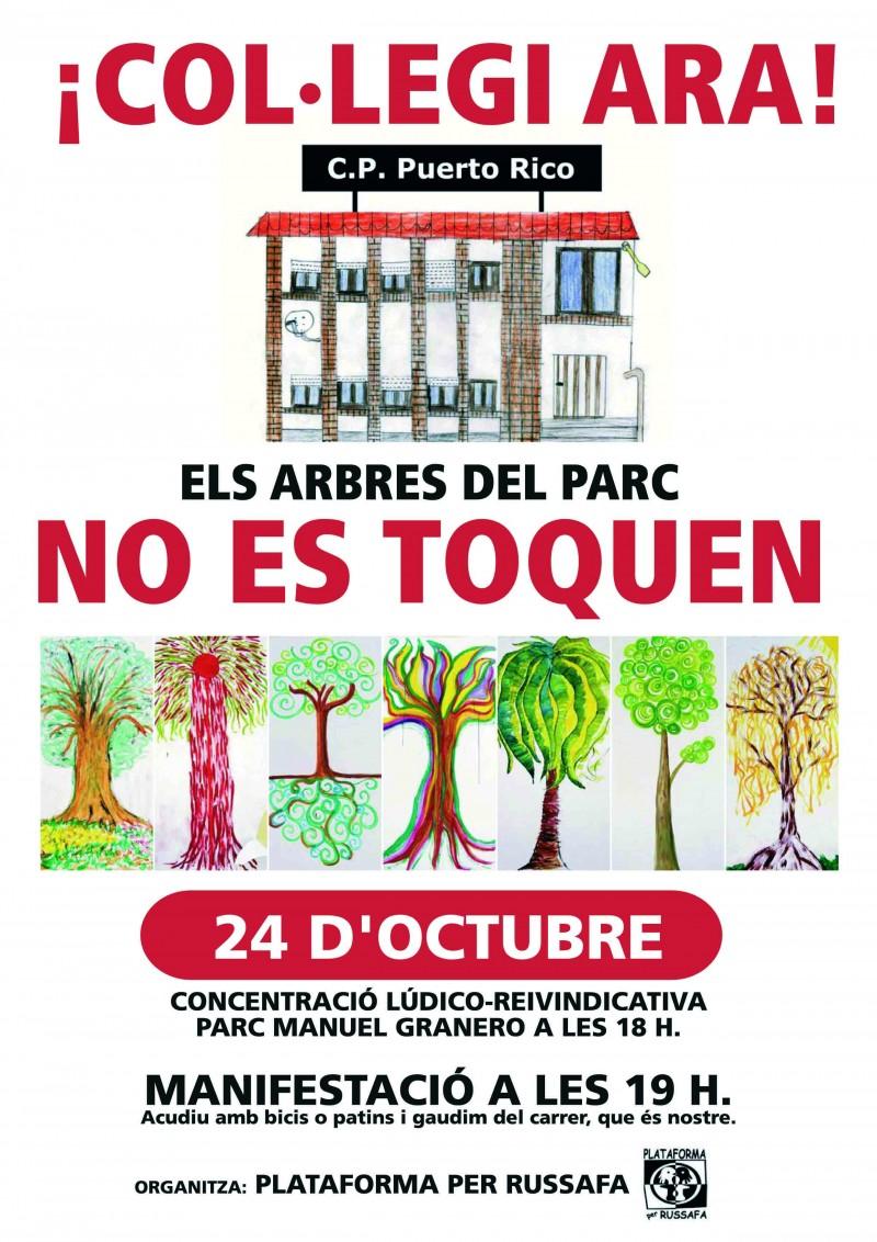 Cartel manifestación octubre 2007