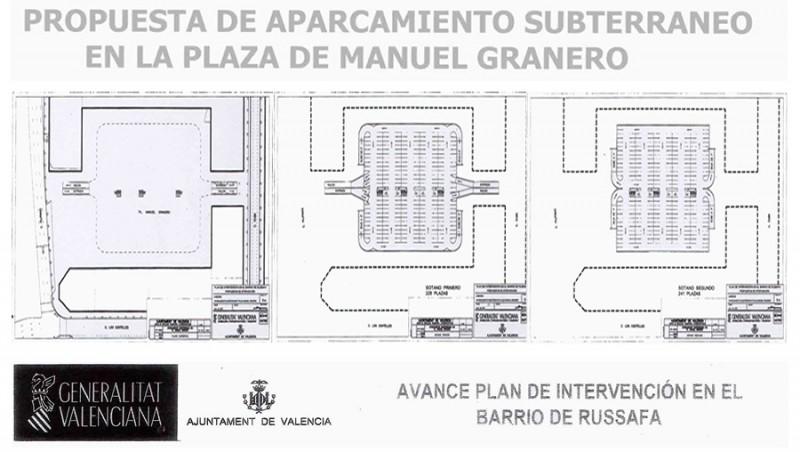 Planos proyecto de aparcamiento