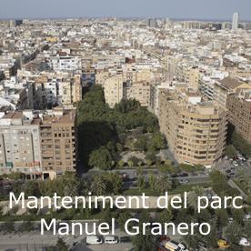 Foto aérea del Manuel Granero
