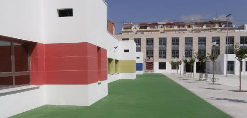 colegio patio infantil