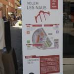 "Cartell informatiu ""Volem les Naus"""
