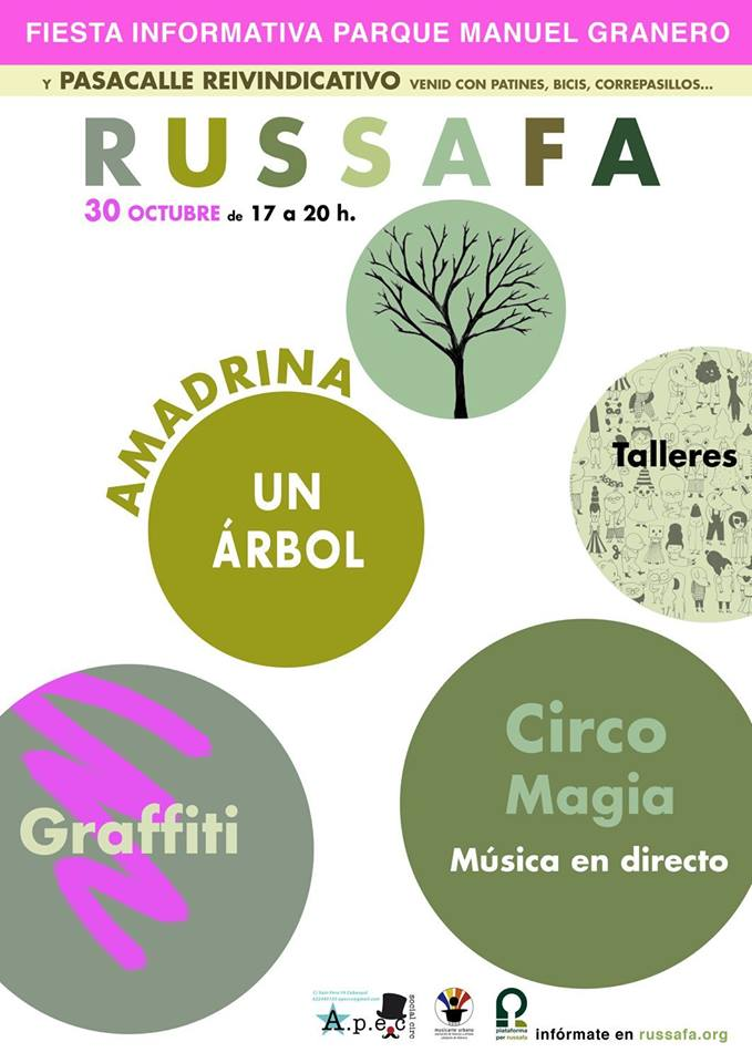 Fiesta informativa 30 de octubre