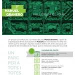 Talleres participativos por la Reforma del Parque Manuel Granero