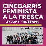Cinebarris feminista a la fresca