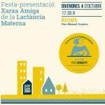 Festa de presentació de la xarxa d'espais de lactància materna